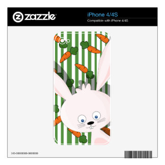 Easter bunny skin for the iPhone 4S