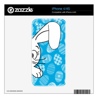 Easter bunny skins for the iPhone 4