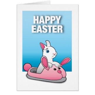 Easter Bunny Slipper Card