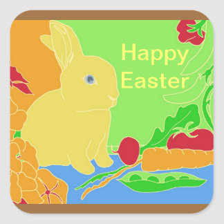 Easter Bunny Sticker