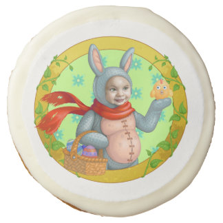 Easter Bunny Sugar Cookie