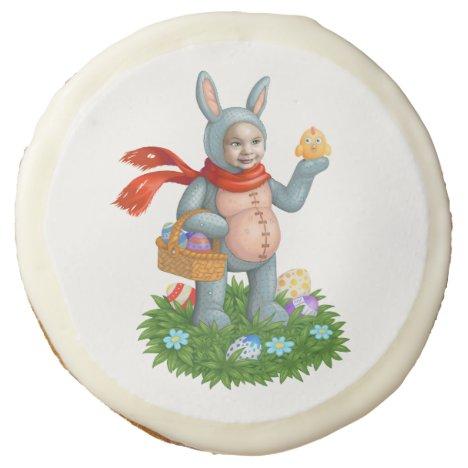 Easter bunny. sugar cookie