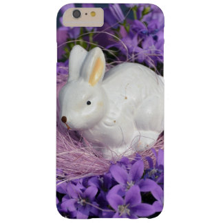 Easter Bunny Surrounded by Purple Flowers Barely There iPhone 6 Plus Case