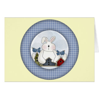 Easter Bunny T shirts and Gifts Greeting Cards
