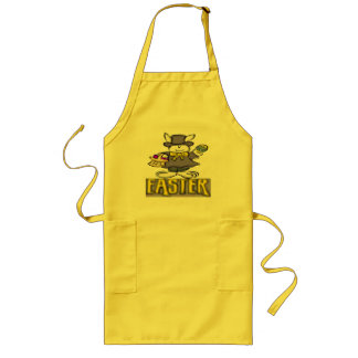 Easter Bunny T shirts and Gifts Long Apron