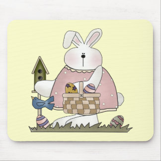 Easter Bunny T shirts and Gifts Mouse Pad