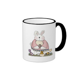 Easter Bunny T shirts and Gifts Coffee Mugs