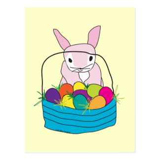 Easter Bunny T-shirts and Gifts Postcard
