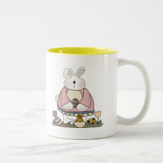 Easter Bunny T shirts and Gifts Two-Tone Coffee Mug