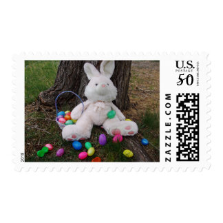 Easter Bunny Taking A Break Postage