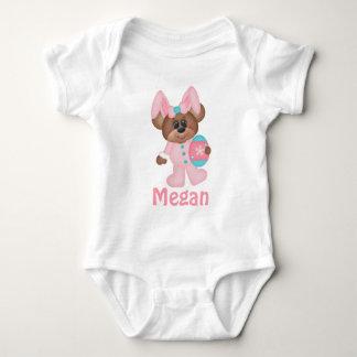 Easter Bunny Teddy Bear with Egg Infant Wear Shirt