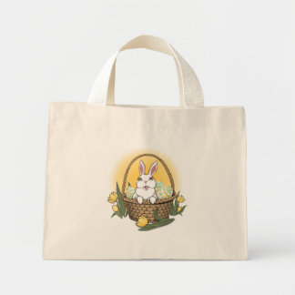 Easter Bunny Tote Bag Easter Bunny Shopping Bag