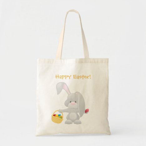 Easter Bunny Tote Bags