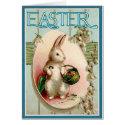 Vintage Easter Bunny Illustration
