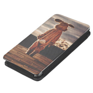 Easter Bunny walking Galaxy S5 Pouch