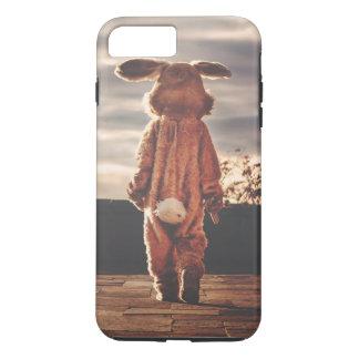 Easter Bunny walking iPhone 8 Plus/7 Plus Case