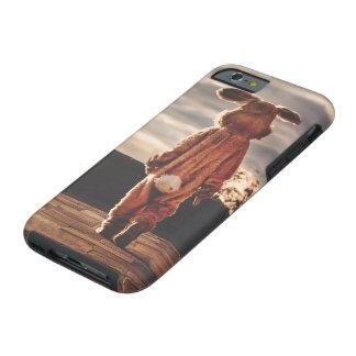 Easter Bunny walking Tough iPhone 6 Case