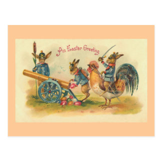 Easter Bunny War Post Cards