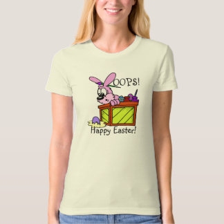 Easter Bunny with Broken Egg T-shirt