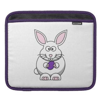Easter Bunny with Egg iPad Sleeve