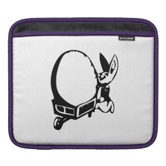 Easter Bunny with Egg iPad Sleeves