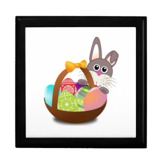 Easter Bunny with Eggs Gift Box