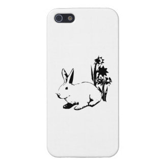 Easter Bunny with Flowers Covers For iPhone 5
