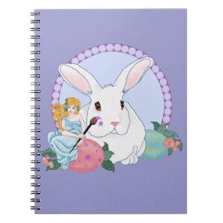 Easter Bunny's Helper Spiral Notebook