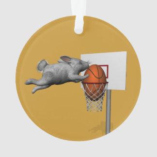 Easter Bunny's Perfect Slam Dunk Ornament