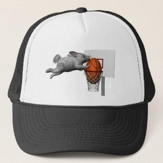 Easter Bunny's Perfect Slam Dunk Trucker Hat