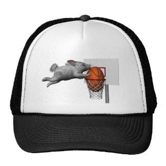 Easter Bunny's Perfect Slam Dunk Trucker Hat