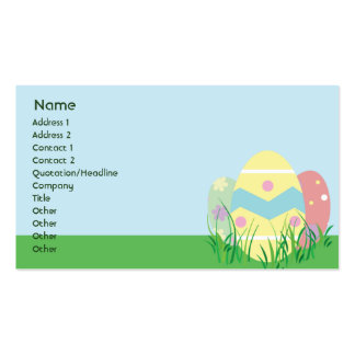 Easter - Business Business Card Template
