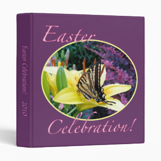 Easter Butterfly Celebration Binder