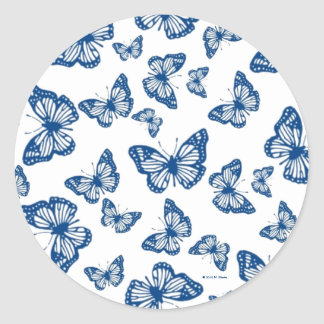 Easter Butterfly Stickers © 2012 M. Martz