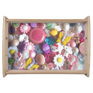 Easter Button Serving Tray