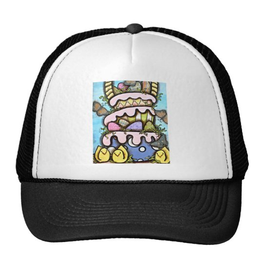 EASTER CAKE TRUCKER HAT