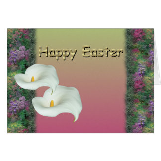 Easter ~ Calla Lily Card