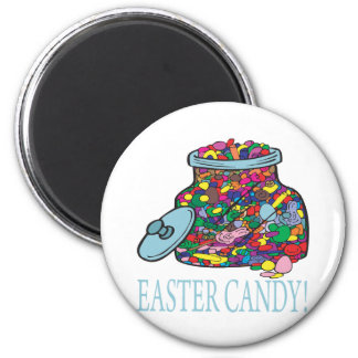 Easter Candy 2 Inch Round Magnet