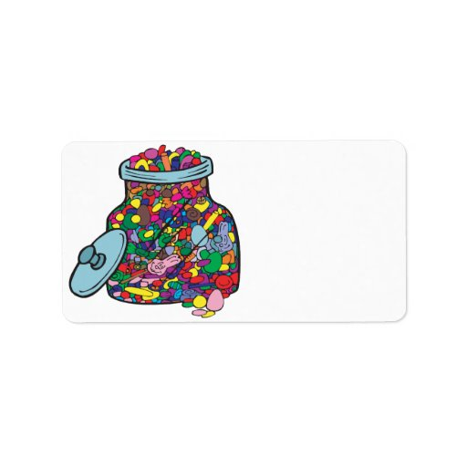 Easter Candy Address Label
