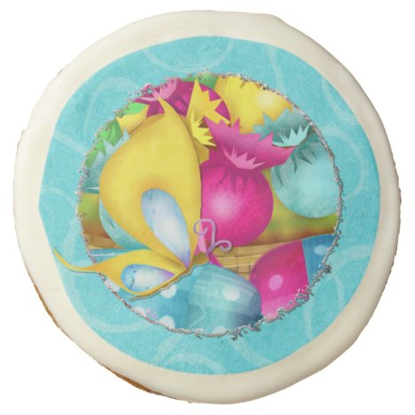 Easter Candy Folk Art PARTY FAVOR or GIFT Sugar Cookie