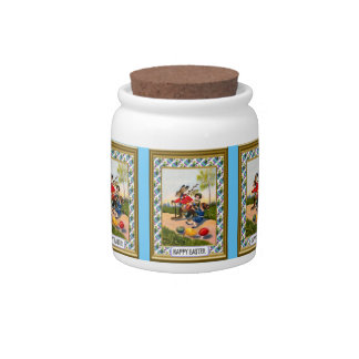 Easter candy Jar, On the road Candy Jar