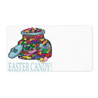 Easter Candy Label