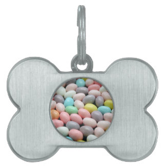 Easter Candy Pet Name Tag