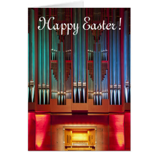 Easter Card - Christchurch Town Hall