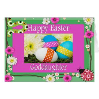 Easter Card For Goddaughter