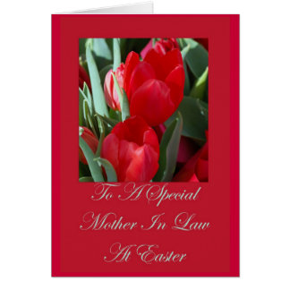 Mother in law easter gifts on zazzle easter card for mother in law negle Choice Image