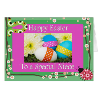 Easter Card For Niece