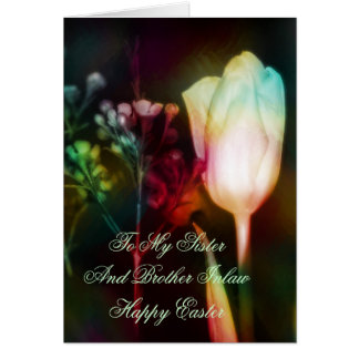 Easter Card For Sister And Brother Inlaw