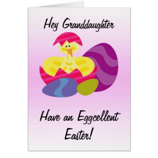 Easter Card Granddaughter