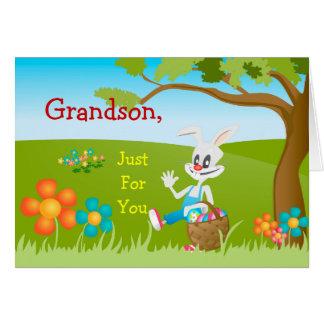 Easter Card Just For Grandson